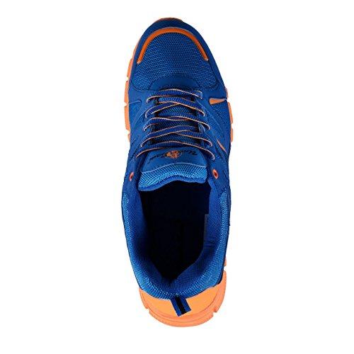 HSM Uncle Sam Uomo Leggero Scarpa da Corsa in tessuto traspirante Blu/Arancione