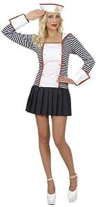 WIDMANN Widman - Disfraz de marinero para mujer, talla L (42-44) (W7714-L)