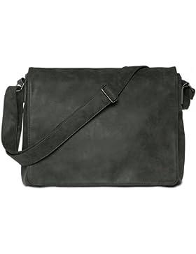 CASPAR TS1012 Vintage Umhängetasche / Messenger Bag