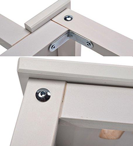 Scaletta per cucina Scale in legno massello per uso domestico Scale ...