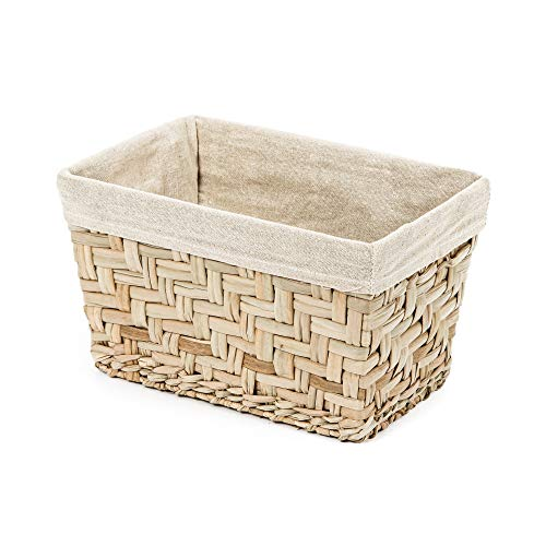 Compactor Fiesta Petit - storage boxes & baskets (Storage basket, Beige, Cane, Monótono, Metal, Beige)