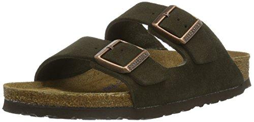 Birkenstock Classic Arizona, Unisex-Erwachsene Pantoletten, Braun (MOCCA SOFT FOOTBED), 44 EU (9.5 Erwachsene UK) (Footbed Florida Soft)