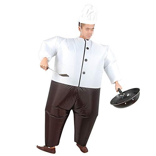 Hehh tuoba fish vestiti gonfiabili sumo, costumi da cuoco in costume da cuoco, oggetti di scena in costume, adatti per spettacoli teatrali