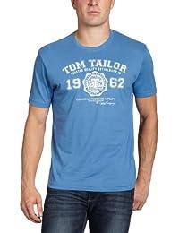 TOM TAILOR Herren T-Shirt logo tee/507