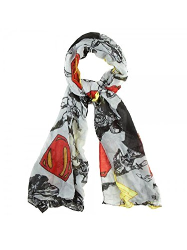 Viskose Schal–Batman V Superman–Dawn of Justice, länglich New sf353kdoj (Pop-schal)