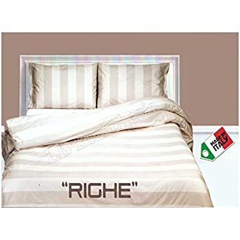 Letto Singolo Shabby.Rp Dolce Notte Trapuntino Estivo Letto Singolo 1 Piazza Copriletto Shabby Chic Righe Naturale Made In Italy