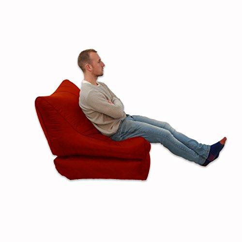 Sitzsack/Sessel, für Innen und Außen, Extra groß, Gaming-Sitz, XXXL, Wetterfest, wasserdicht) - 5