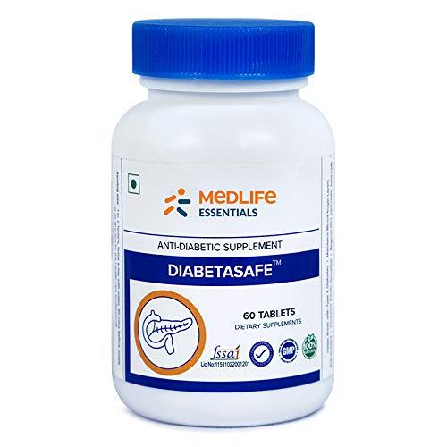 MEDLIFE Essentials Diabetasafe for Healthy Blood Sugar (60 Capsules)