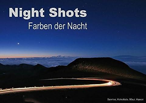 Night Shots - Farben der Nacht (Posterbuch DIN A2 quer): 13 faszinierende Nachtaufnahmen aus aller Welt (Posterbuch, 14 Seiten) (CALVENDO Orte) [Taschenbuch] [Jul 24, 2013] Bade, (Nacht Bade)