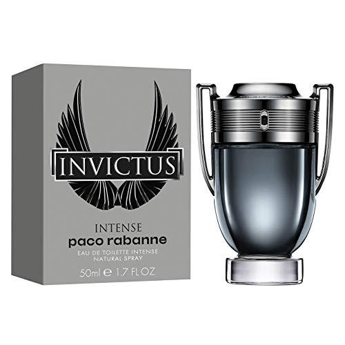 Eau de toilette Paco Rabanne'Invictus Intense', uomo, confezione da 1 (1x 50ml)
