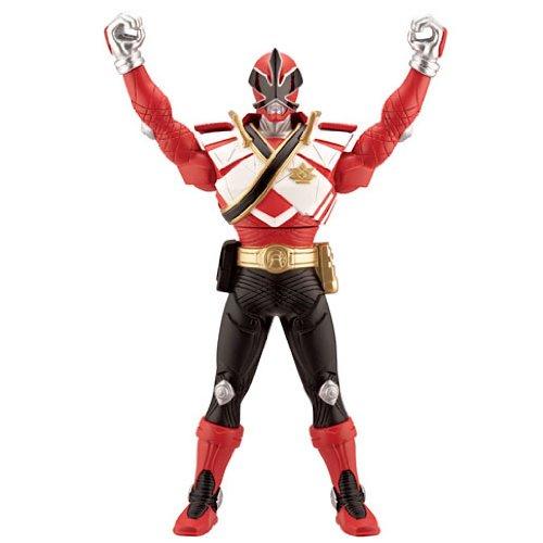 Power Rangers Super Samurai Chest Morphin Figure - Red (Red Power Ranger Spielzeug)