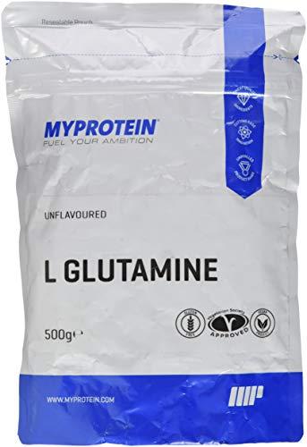 Myprotein L- Glutamine Unflavoured, 1er Pack 1 x 500 g