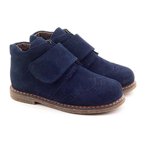Boni Mini Albert - Chaussures Garçon cuir scratch