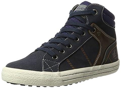 s.Oliver Jungen 55101 Sneaker, Blau (Navy), 37 EU