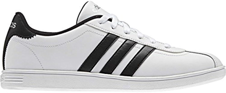 adidas VLCOURT - Zapatillas deportivas para Hombre, Blanco - (FTWBLA/NEGBAS/PLAMAT) 42