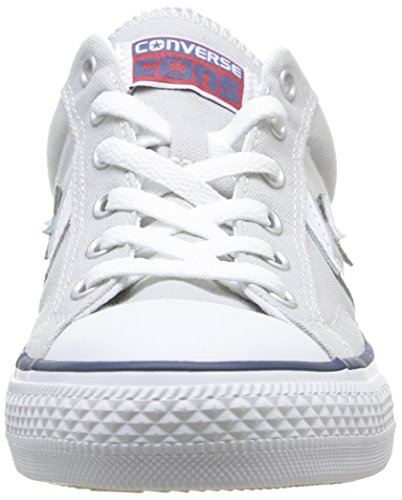 Converse, Star Player Adulte Core Canvas Ox, Sneaker, Unisex - adulto Grigio (Gray/White)