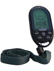 Technoline EA 3050 schwarz Kompass mit Höhenmesser, schwarz / grau