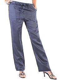 Damen Hose Leinenhose Aladin Pump Harem 9 Colors 36 S - 44 XXL