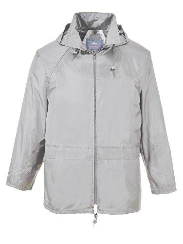Portwest s440yers della classica giacca pioggia Grigio