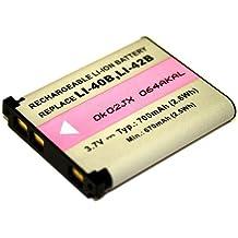 Batería para Olympus LI-40B LI-42B Fe de 4050Fe de 5040Fe de 320Fe de 330Fe de 360FE-350Wide LI-40B LI-42B EN-EL1002491–006–00Fuji J20, J25J250JZ505Z30Z33Z33WP L30L50L55T200T205T300NP-45A Nikon Coolpix S3100enDe EL10Nikkor Olympus Camedia X600X785X790X800Fe 1501601902202302402503203303505505500IR 300mju 7007107207307408201200SP700Stylus 7307407507608401200Rollei RCP 7325X S DS5370XS8XS10FinePix J10002491–0066–02Accu batería battery Bateria batería
