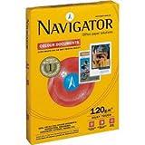 Navigator Kopierpapier Navigator Colour Documents A4 120g/qm weiß VE=250 Blatt