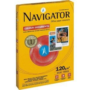 NAVIGATOR Papel Blanco de navegador Colour Documents A4120g/m2, VE = 250hojas