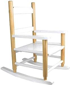 THE HOME DECO FACTORY hd3008Sedia a dondolo per bambini legno/MDF 40,70X 53X 65cm