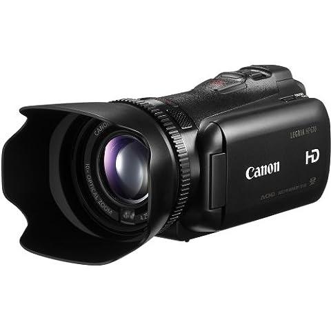 Canon Legria HF G10 - Videocámara (Full HD, Zoom Óptico 10 x, 32 GB), negro (importado)
