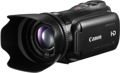 Canon LEGRIA HF G10 HD-Camcorder (SDXC/SDHC/SD-Slot, 10-fach Zoom Dynamic IS, 8,8 cm (3,5 Zoll) Touch-Display) schwarz