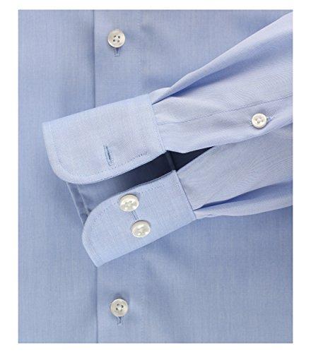 Michaelax-Fashion-Trade Camicia Classiche - Basic - Classico - Maniche Lunghe - Uomo Blau (115)