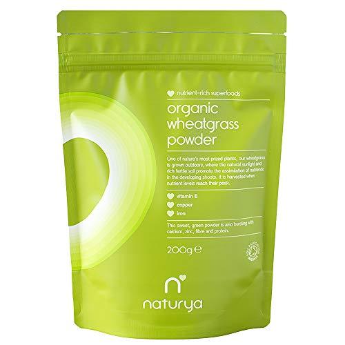 Naturya Bio Weizengras Pulver, 200 g - Weizengras Ergänzungen