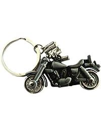 Aai Classic Revolving Wheel Bike Metal Keychain - Grey