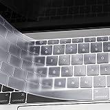 MOSISO AZERTY Protection Clavier Compatible MacBook Pro 13 Pouces A1708 sans Touch...