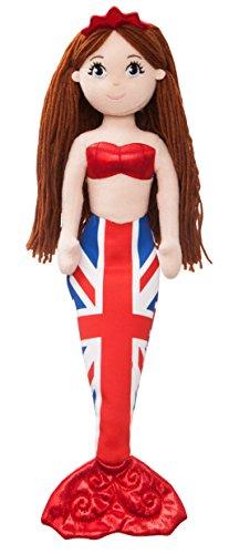 "Aurora World 6078345,7cm ""Union Jack Mer Sparkles Catherine"" jouet"
