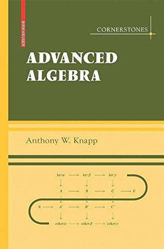 Advanced Algebra: With a Companion Volume 'Basic Algebra' (Cornerstones) by Anthony W. Knapp (2007-11-26)
