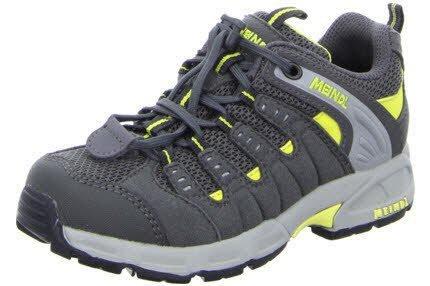 Preisvergleich Produktbild Meindl Kinder Schuhe Respond Junior 2044 steingrau / gelb 35 by Meindl