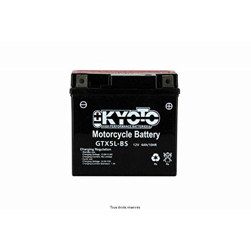 KYOTO - BATTERIA Ytx5l-bs - L114xl71xH106 - Senza Manutenzione - Fornita con acido