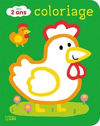 Coloriages pour les tout-petits: les animaux de la ferme -