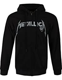 Metallica Phantom Lord Sweat à capuche zippé noir