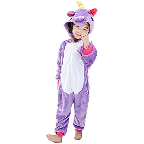 pijama de unicornio kawaii JT-Amigo Disfraz de Pijama Animales para Niños