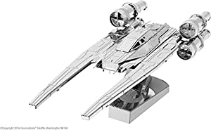 Metal Earth - Star Wars - Rogue One- u-Wing Fighter - Maqueta 3D de Metal (Incluye 2 Hojas sobre Tarjeta 12 x 17 cm