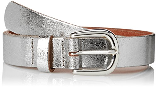 s.Oliver Damen Gürtel 39.804.95.5016, Silber (Silver 0010), 95