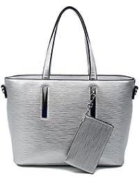 OBC Damen Business Tasche Shopper Workbag Schultertasche Umhängetasche Handtasche Henkeltasche