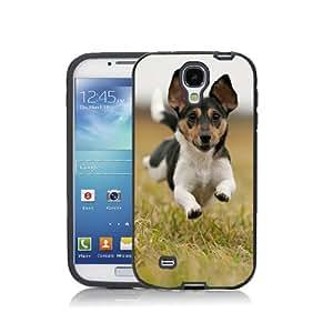 Case Schutzrahmen hülse Dog Hund Tier NDog10 Abdeckung für Samsung Galaxy Note 2 Border Gummi Silikon Tasche Schwarz