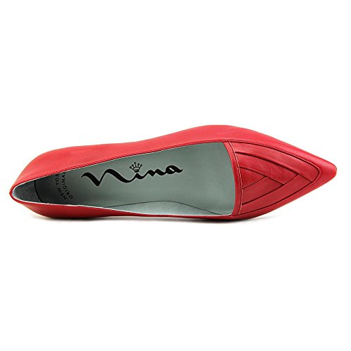 Nina Zelima Femmes Cuir Chaussure Plate Fire
