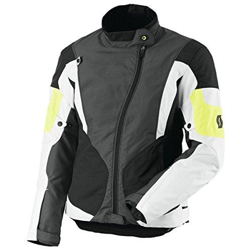 Scott Technit DP Damen Motorrad Jacke grau/gelb 2015: Größe: 38