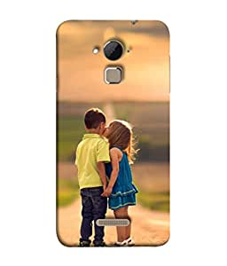 Snapdilla Designer Back Case Cover for Coolpad Note 3 Lite :: Coolpad Note 3 Lite Dual SIM (Child Play Sunlight Wallpaper Backcover Attraction)