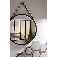 Espejos redondos pared espejos decoraci n del hogar hogar y cocina - Espejos decorativos amazon ...