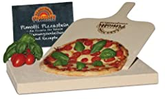 3cm Pimotti Pizzastein Brotbackstein aus Schamott
