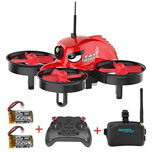 REDPAWZ R011 Professional HD Camera Drones 1080P 720P WiFi FPV Selfie Sensor Gravity Altitude Transmitter Retention Mode Altitude Maintenance / Headless Mode / with Wide Angle Lens-RTF